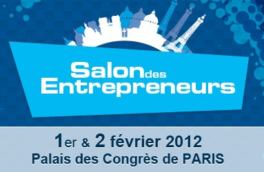 Dates noter salon des entrepreneurs paris 2012 dble for Salon des entrepreneurs paris